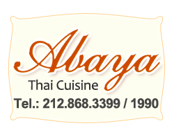 Abaya Thai Cuisine, New York, NY